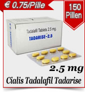 Tadalafil Tadarise 2.5 mg