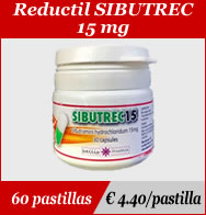 Reductil Sibutrec 15mg