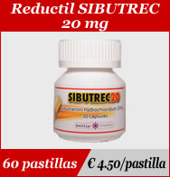 Reductil Sibutrec 20mg